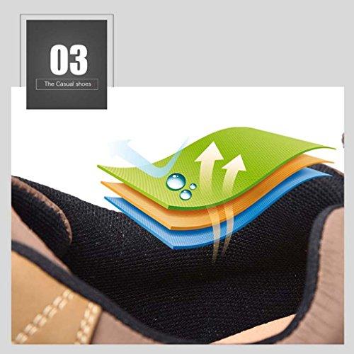 ZXCV Scarpe all'aperto Le scarpe da trekking degli uomini all'aperto di Four Seasons sono scarpe casual comode Blu