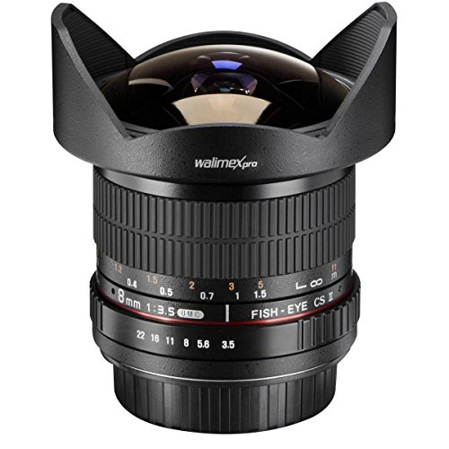 Best Saving for Walimex Pro Version II 8 mm f/3.5 Fisheye Lens for Nikon 1 Online