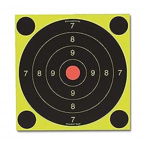 Birchwood Casey 34082 Shoot-N-C Self-Adhesive Targets 25/50 Meter