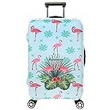 Cover Proteggi Valigia Elasticizzata in forma Flamingo 18-32 pollici Suitcase Cover Cover Proteggi bagagli protettore dei bagagli valigia (fenicottero 3, S)
