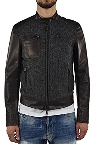 Dsquared2 Men's Leather and Wool Jacket - size 50