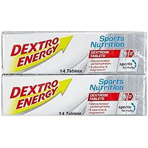 Sport Tablets Dextro Energy   6×94 g Sport Tabletten   Mit Vitamin B1, Vitamin B6, Vitamin C & Magnesium   168 x Traubenzucker zum Kauen beim Training