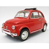 Fiat 500 L, rosso, 1968, modello di automobile, modello prefabbricato, Bburago 1:24 Modello esclusivamente Da Collezione
