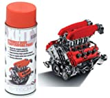 E-Tech Red XHT Extremely High Temperature Spray Paint Brake Caliper Engine Block 650'C
