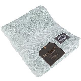 Christy 100% Cotton Luxury 675GSM Hand Towel Elegant Textured Bathroom Accessories 46 x 76cm (Arctic Aqua)