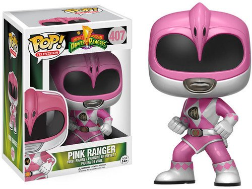 Funko 12273 POP Vinylfigur: Power Rangers: Pink Ranger, Standard