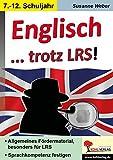 Englisch lernen trotz LRS: Allgemeines Fördermaterial, besonders für LRS