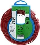 Profiplast PRP500056 - Bobina de cable (H07V-U, 1,5 mm² x 25 m), color rojo