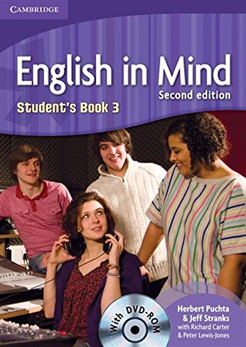 English in Mind 2nd  3 Student's Book with DVD-ROM - 9780521159487