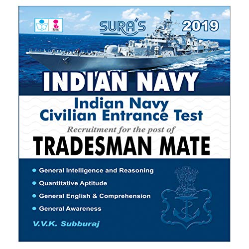 Indian Navy Civilian Entrance Test Tradesman Mate Exam Books