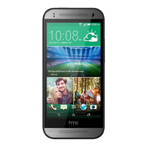 "Foto HTC One mini 2 4.5"" Single SIM 4G 1GB 16GB 2100mAh Grey - Smartphones (11.4 cm (4.5""), 1 GB, 16 GB, 13 MP, Android, Grey)"