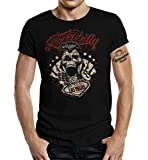 GASOLINE BANDIT T-Shirt original Biker Rockabilly Design: Las Vegas L