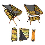 xnbnsj Sillas Plegables ultraligeras para Exteriores, sillas Plegables para Camping, sillas de Playa, Indian Brown