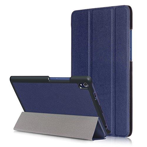 WiTa-Store Tasche für Lenovo Tab3 8 Plus TB-8703 N/F 8.0 Zoll Schutz Hülle Flip Tablet Cover Case (Blau) Neu