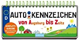 Autokennzeichen: Von Augsburg bis Zeitz