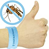 Apriller 5 Pack All Natural Mosquito Repellent Bracelets - Guaranteed to Work - Fast, Easy, No Deet, Mess, Spray or Plastic - 30 Day Money Back Guarantee, No Deet, Mess, Spray or Plastic