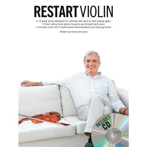 Restart Violin. Partitions, CD pour Violon