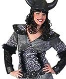 Kostüm Wikinger Dame Yma Größe 44/46 Wikingerkostüm Damen Skandinavien Wikingerin Kleid grau Karneval Fasching Pierro's