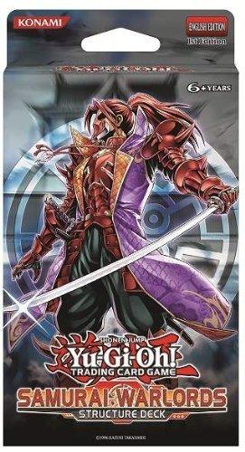 YuGiOh Samurai Warlords 1st EDITION Structure Deck (Yu Gi Oh ZEXAL) by Yu-Gi-Oh! (Yu-gi-oh Samurai Deck)