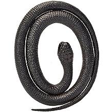 Serpiente de goma Mamba Negra aprox. 100cm