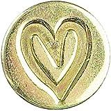 Manuscript Classic - Juego de lacre y sello, diseño de corazón, color rojo