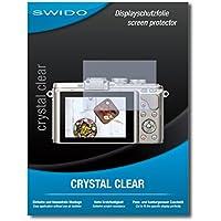 """2 x SWIDO® Protector de pantalla Olympus PEN E-PL8 Protectores de pantalla de película """"CrystalClear"""" invisible"""