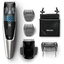 Philips Series 7000 Vakuum Bartschneider BT7220/15, schwarz / silber