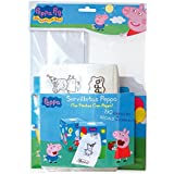 Peppa Pig - Servilletas y dispensador (Verbetena 016000799)