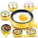 Piyuda Brand New Mini Electric 7 Egg Poacher Steamer Cooker Boiler Fryer For Egg