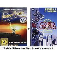 Nummer 5 lebt + Nr.5 gibt nicht auf dvd Set 1+2 in deutsch