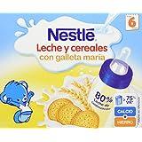 Nestlé Alimento Elaborado A Base De Cereales Con Leche De Continuación Listo Para Tomar - Paquete De 2 x 250 ml - Total: 500 ml