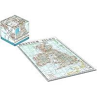 Robert Frederick 100pezzi Cubo Puzzle–Vintage Mappa Isole Britanniche, colori