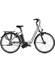 E-Bike Kalkhoff Jubilee I7 Excite 7G 17 Ah Wave 28' Freilauf chromosilver 2018