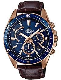 Casio Edifice Analog Blue Dial Men's Watch - EFR-552GL-2AVUDF (EX358)