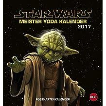 Meister Yoda Postkartenkalender 2017