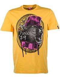 PUMA t-shirt music theme t-shirt pour homme