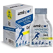 Amlsport Magnesio Total Gel - 12 sobres x 20 ml Limón