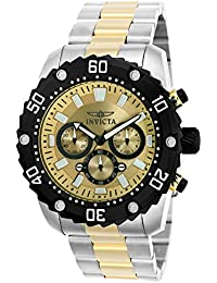 Invicta Pro Diver 22519 - Reloj de pulsera Cuarzo Hombre correa de Chapado en acero inoxidable Bicolor
