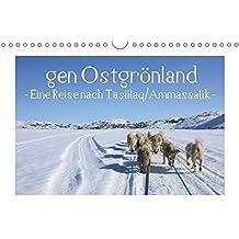 gen Ostgrönland - Eine Reise nach Tasiilaq/Ammassalik - (Wandkalender 2019 DIN A4 quer): Eindrücke aus der Hauptstadt Ostgrönlands (Monatskalender, 14 Seiten ) (CALVENDO Orte)