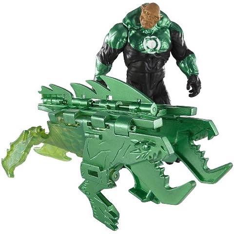 Green Lantern T7814 Instant Shifters - Figura de Kilowog (aprox. 10 cm) con Astro Biest convertible en