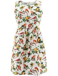 Shikha London Kleid BIRDS EMBROIDERY DRESS 5254