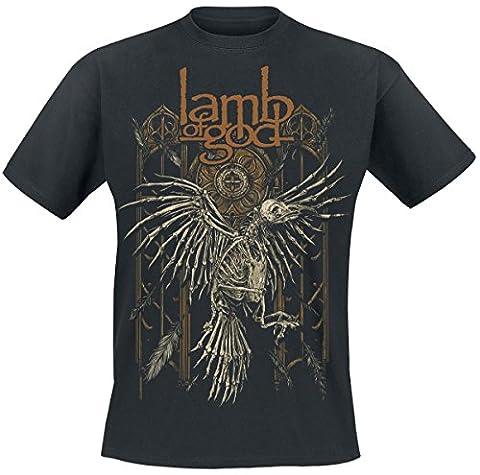 Lamb Of God Crow T-shirt noir L