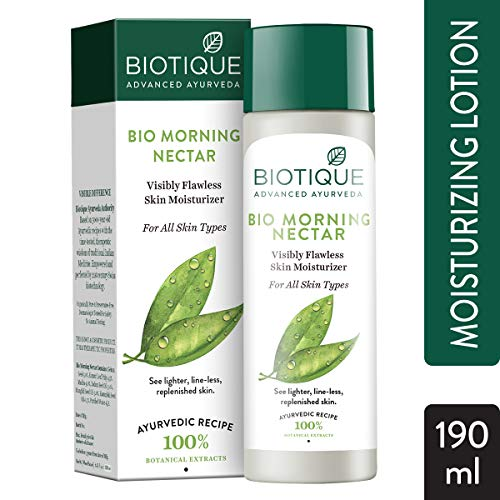 Biotique Morning Nectar Flawless Skin Lotion for All Skin Types, 190ml