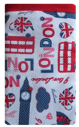 I Love London iPhone Chaussette/Housse/Coque