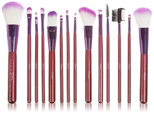 Glow 14 pinceau de maquillage; Pourpre
