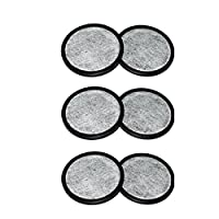 Generic Hot 2X Machines Charcoal 2-Replacement Filters Everyday 2016 for Mr. Coffee Water