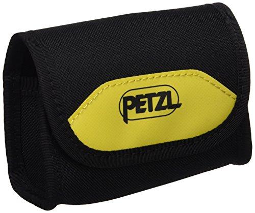 Petzl E78001sacoche Poche Pixa étui de transport pour lampe Pixa, Jaune/Noir