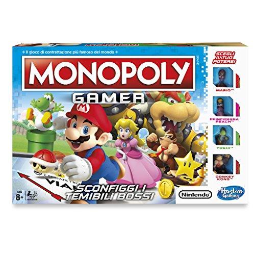 Hasbro Games - Juego mesa Monopoly Gamer Estándar