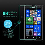 M.G.R.J Nokia Lumia 625 [ 3D Touch Compatible - Tempered Glass] Screen Protector with [9H Hardness] [Premium Crystal Clarity] [Scratch-Resistant]
