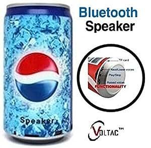 VOLTAC` ™ Soft Drink Pepsi Cola Beer Can Shape Mp3 Audio Songs Fm Radio Multimedia Speaker. Pattern #119712